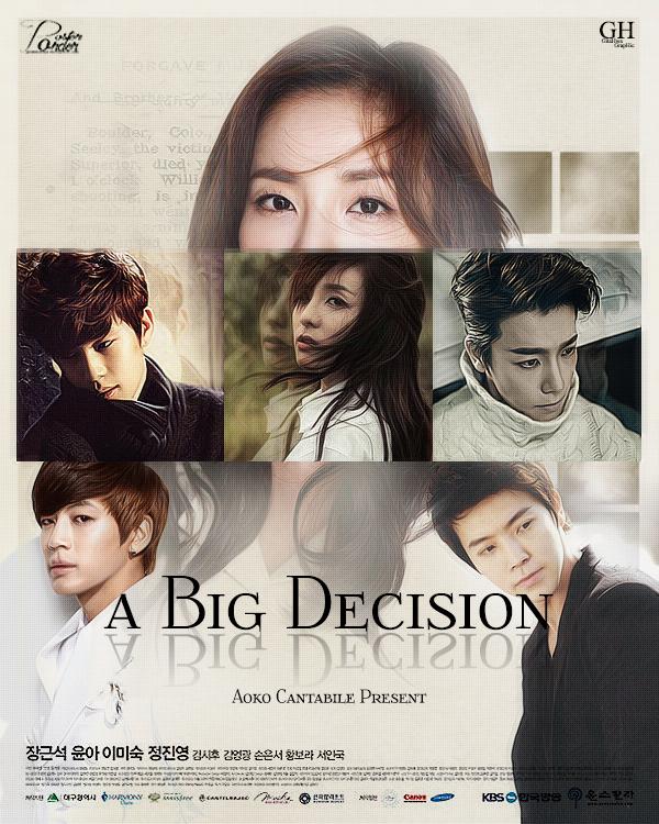 a Big Decision poster [Gitahwa @ Poster Order]