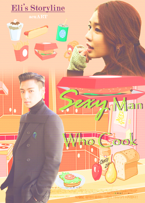 sexy man who cook